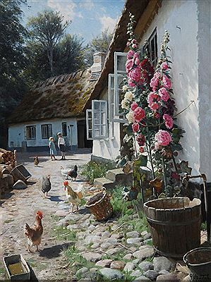 Peder Monsted - Upcoming and historic auction records, auction prices and images for Peder Mork Monsted 66 x 51 cm