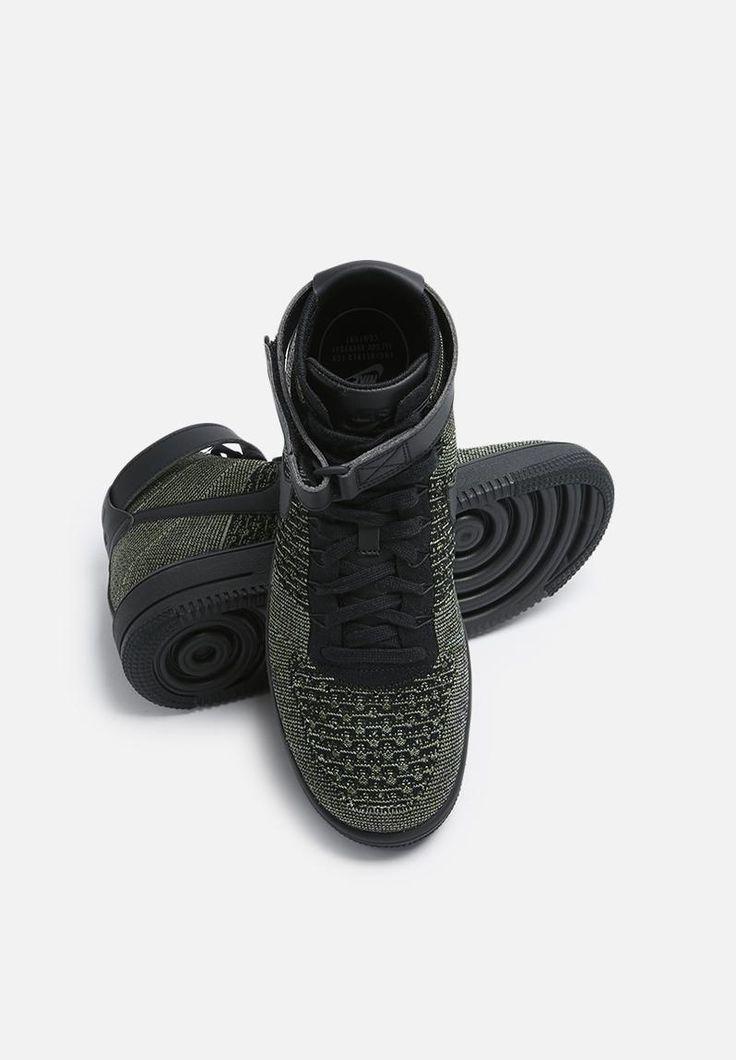 Nike AF1 Ultra Flyknit - 817420-301 - Palm Green / Black / White Nike Sneakers | Superbalist.com