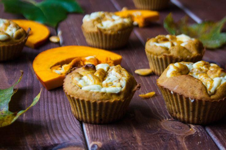 Pumpkin cream cheese muffins - only 82 calories per muffin.