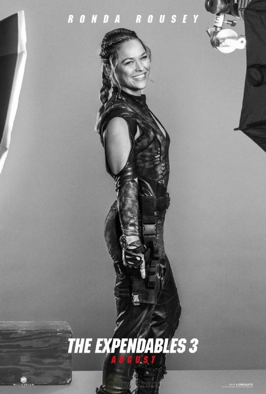Ronda Rousey! Expendables 3 character posters | Movie Galleries | Empire she was so good in it