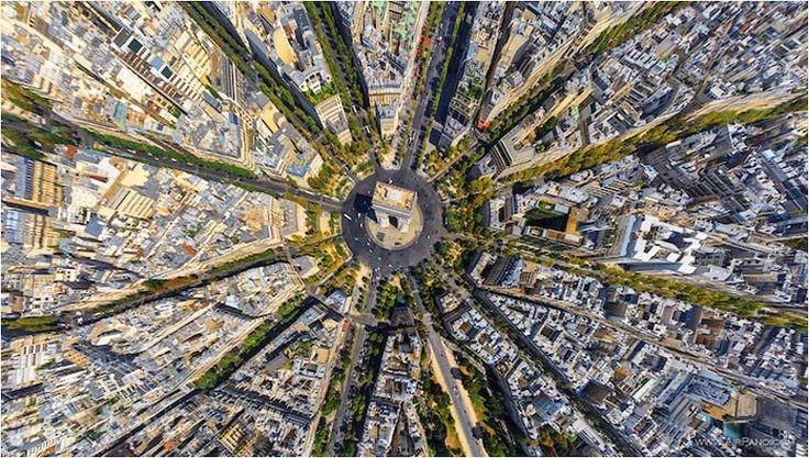 Une superbe série de photographies aériennes issues du AirPano Project, imaginé par une équipe de photographes russes passionnés, qui capturent des panor