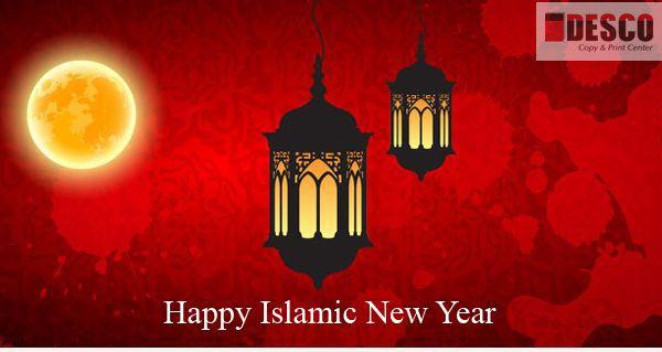 Happy Islamic New Year  Al Hijri New Year  #Dubai #Descoprinting  Descoonline.com
