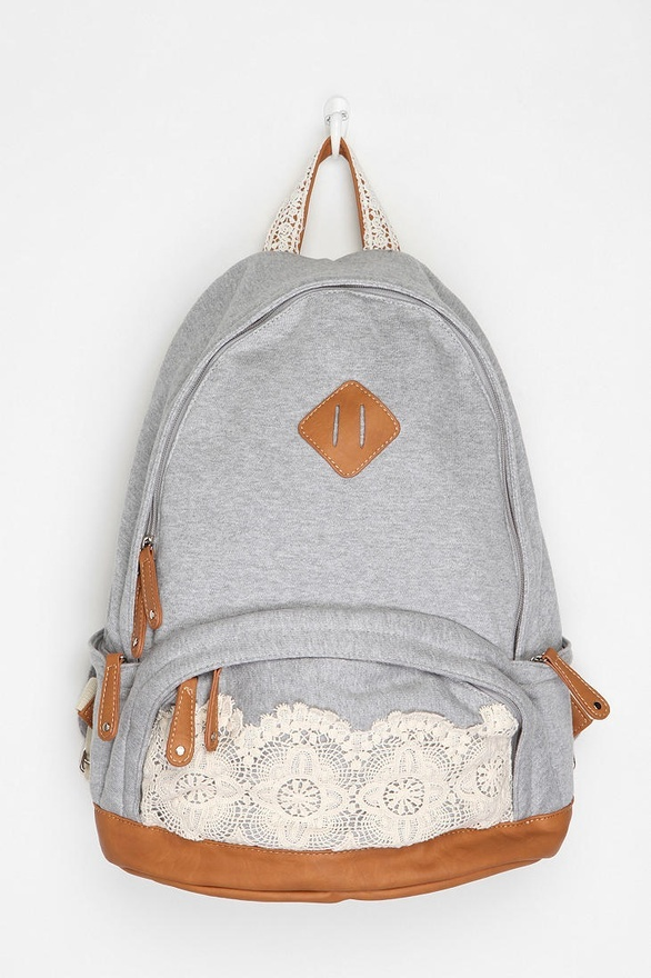 Ahhh!! Wish I'd had this in high school- I always hated backpacks because I thought they were ugly. Not this one, that's for sure!