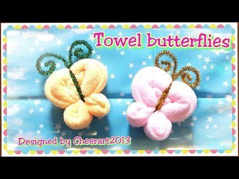 how to make a cute elephant with towel / como hacer un elefante con toalla - YouTube