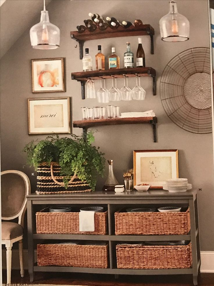 Love the wall art and the shelves but dog hair 😑