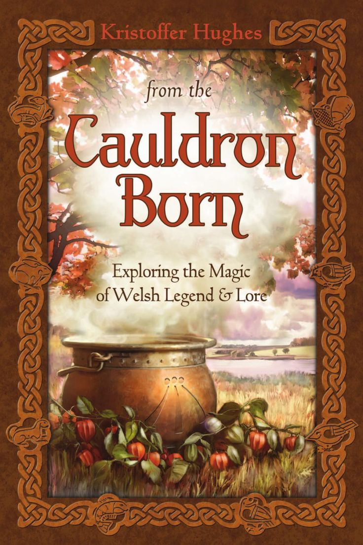 """Witch Library:  """"From the #Cauldron Born,"""" by Kristoffer Hughes."""