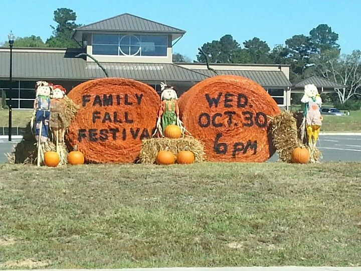 Great advertising for Fall Festival!