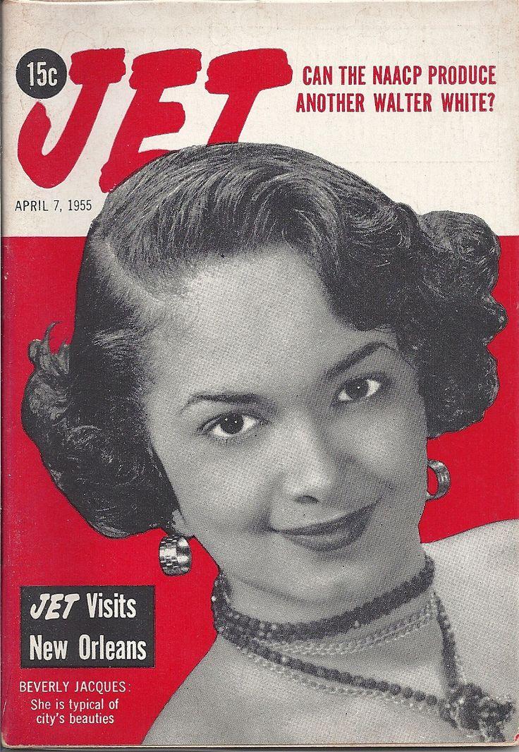 APR 7 1955 JET MAGAZINE VOL.7 #22 (Beverly Jacques)