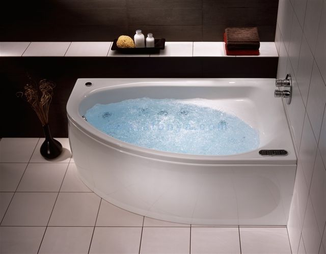 Ванна акриловая IFO LERUM (160х100) угловая асимметричная правая (с ножками) BA10160000, цена 12 046 руб.