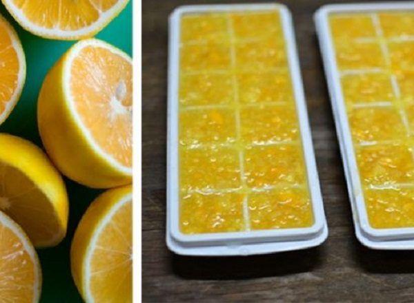 zmražené citrony
