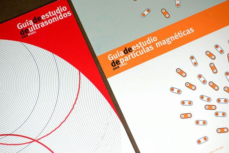 Detalle del diseño de dos portadas para la Asociación Española de Ensayos no Destructivos AEND. Tea for two - diseño publicitario.
