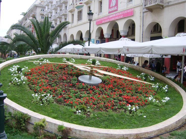 Clock at Aristotelous square, Thessaloniki