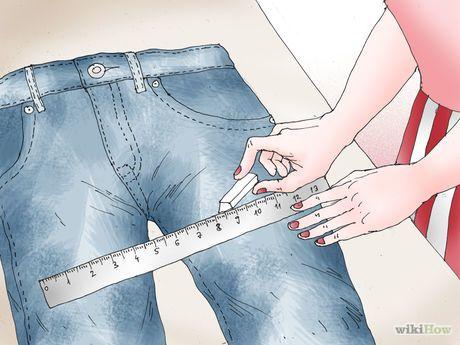 Image intitulée Turn Jeans into Shorts Step 6.jpeg
