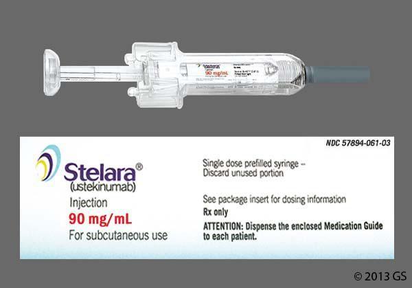 Stelara ستيلارا لعلاج الصدفية و التهاب المفاصل الصدفي Single Dose Syringe Medical