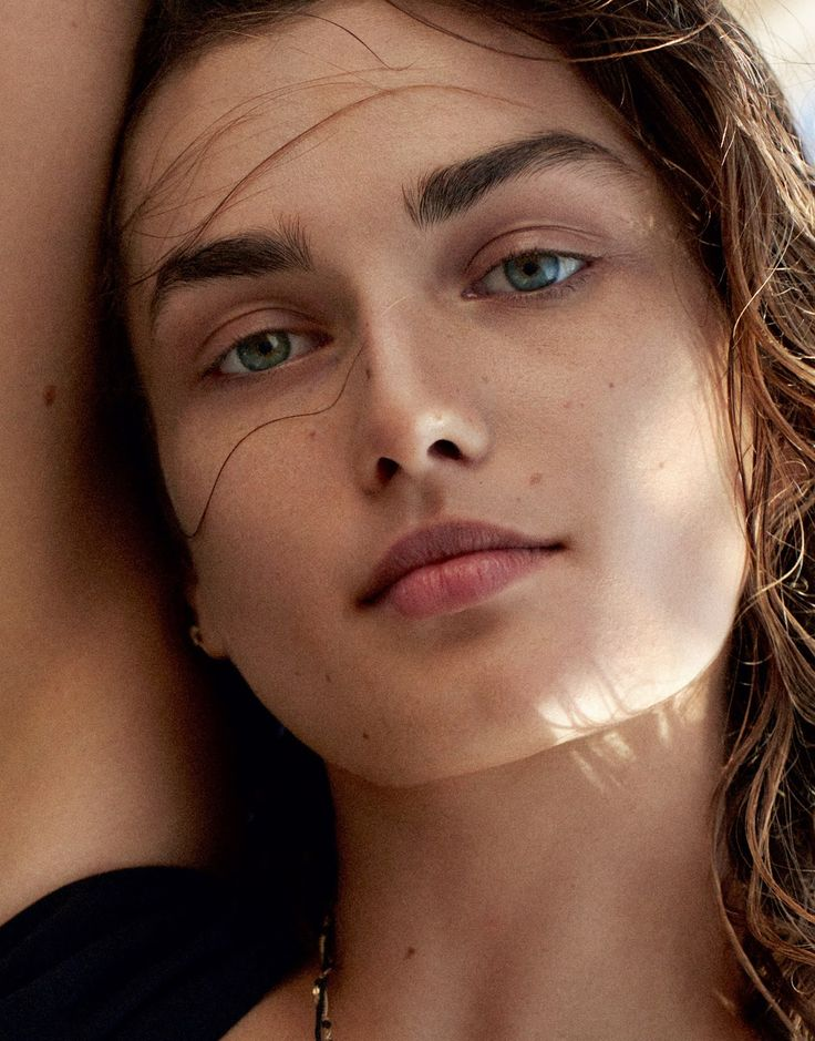 visual optimism; fashion editorials, shows, campaigns & more!: castaway: andreea diaconu by cass bird for porter #9 summer 2015