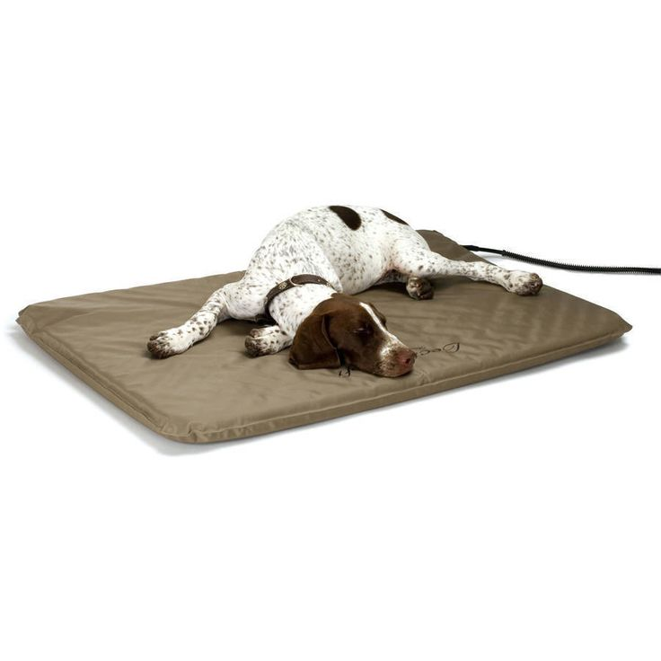 Soft Small Heated Pet Bed 14x18 Lectro Soft Outdoor Cover K&H Pad Cat Dog Fleece #KHPetProducts