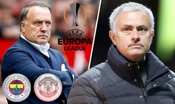 Europa League LIVE: Rooney returns for Man Utd but Van Persie starts on the bench