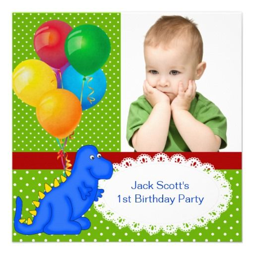 25 best Baby 1St Birthday Invitations images – Baby 1st Birthday Invitation Card