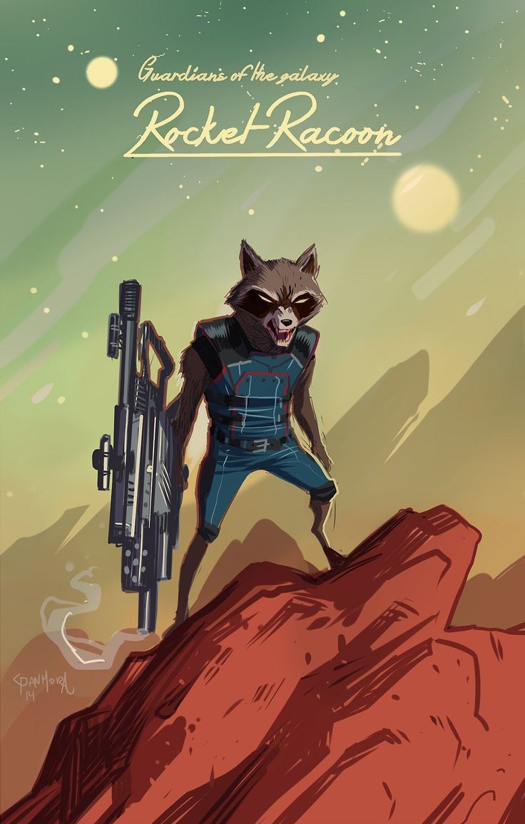 Images of Rocket Raccoon Comic - #rock-cafe