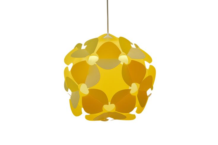 Lill in Yellow by Norla Design, featured now on PinkLion.com. Inspired by a blooming spring meadow, this light is a beautiful, simple, but expressive form which will perfectly suits your interior. #lighting