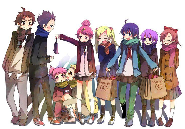 Tags: Fanart, Ojamajo DoReMi, Harukaze Doremi, Senoo Aiko, Fujiwara Hazuki, Segawa Onpu, Asuka Momoko, Harukaze Pop, Makihatayama Hana, Ayas...