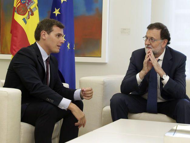 Albert Rivera apoya la moción de censura al Govern: Solo nos queda un cartucho celebrar elecciones autonómicas