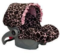 such cute car seat covers, because most baby car seats are rough and ugggly. pinning this for future use.. FAR in the future haha.