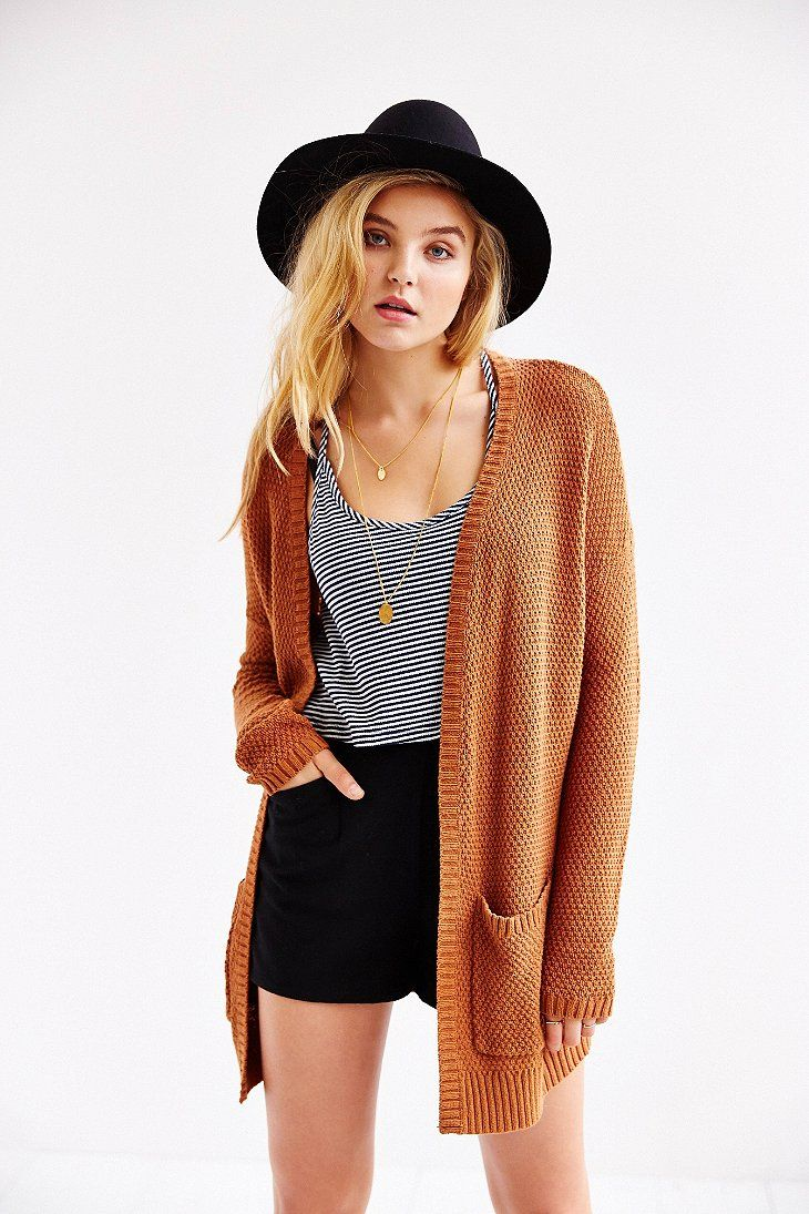 BDG London Cardigan -- also really like the shorts