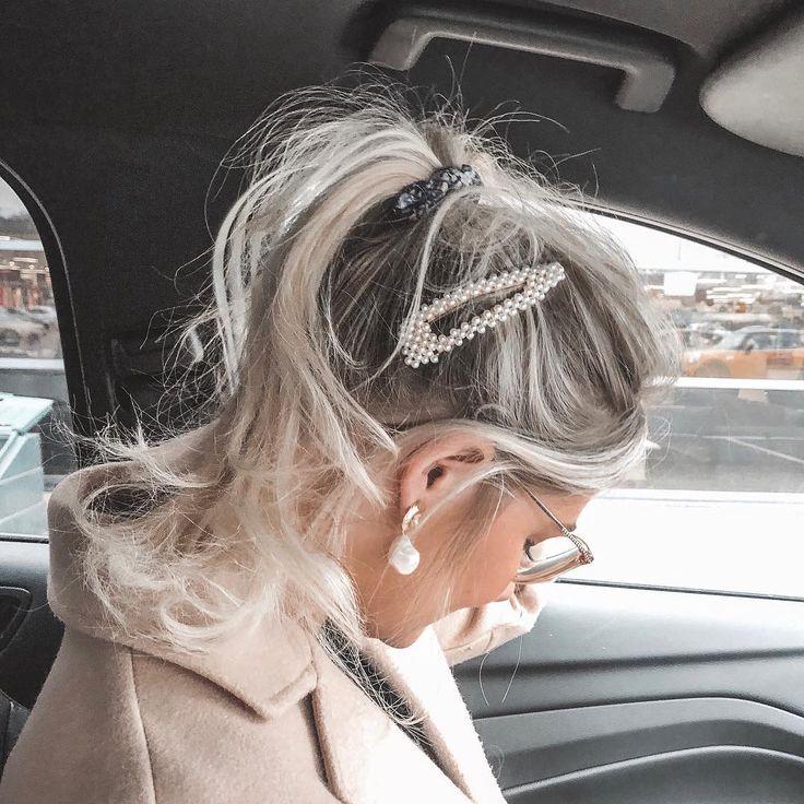 Perlenschmuck, Manschettenknöpfe mit Perlen Frühjahr 2019 Modetrends - Accessoires mit Perlen: Frühjahr 2019 Mode Super Trend