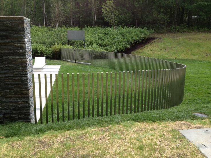 14 best pool fences images on pinterest for Pool fence designs