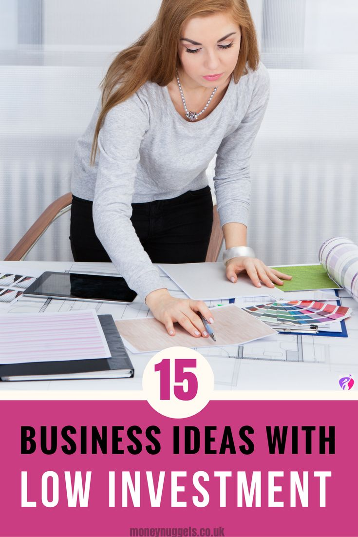 Are you looking for business ideas with low investment? Get inspired by our low cost business ideas and take the first step to becoming an entrepreneur.