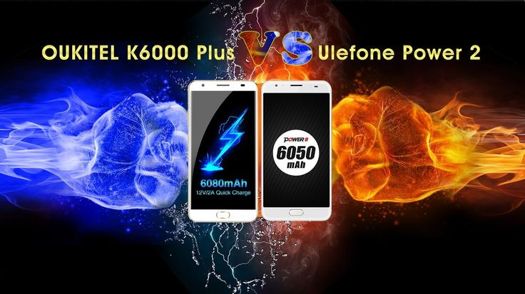 OUKITEL K6000 Plus Vs Ulefone Power 2: Battery, Camera Tests #Android #Google #news