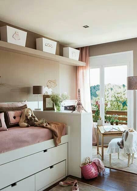 1000 ideas sobre cuartos de costura peque as en pinterest - Camas nido pequenas ...