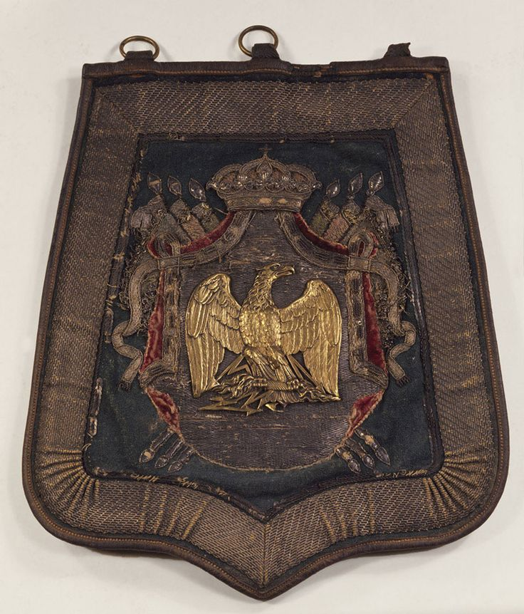 Sabretache used by General Charles Lefebvre-Desnouettes, French Army Staff, 1808