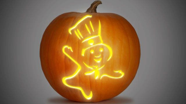 Take the guesswork out of carving your pumpkin this Halloween! Pick one of the templates below, it's as easy as 1...2...3!