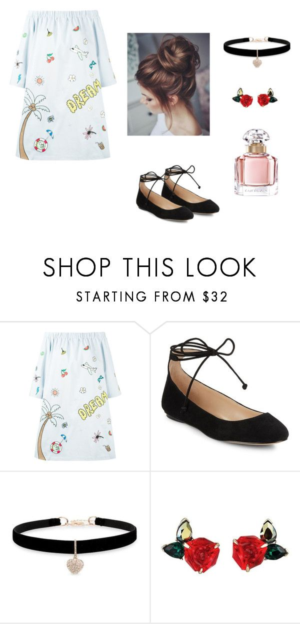 """""""Lovely"""" by ustine on Polyvore featuring moda, Mira Mikati, Karl Lagerfeld, Betsey Johnson i Guerlain"""