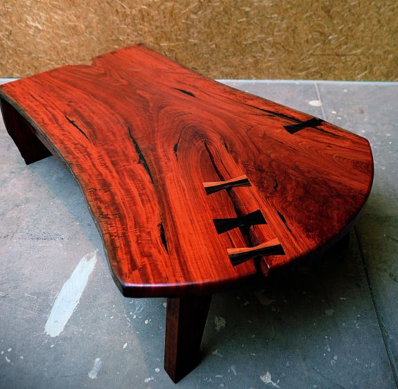 Redgum Table - a proud piece from Michael Hayes