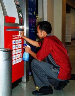 Absolute Financial Equipment Provides You Atm Exterior Cleaning Services Atm Exterior Cleaning