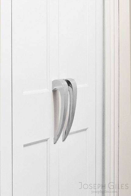 joseph giles ribbed pull handles on cabinet doors - Cabinet Door Pulls