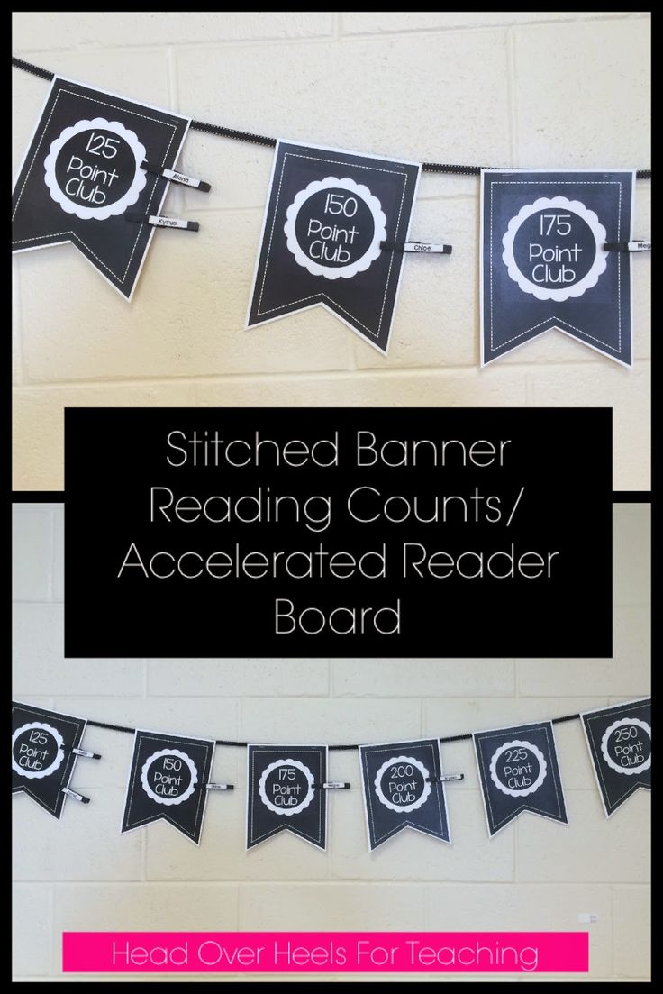 Fall Reading Organizers, Reading Counts