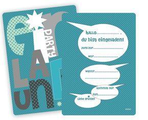 Einladungskarten Kindergeburtstag Jungen : Einladungskarten Kindergeburtstag Jungen Basteln - Kindergeburtstag Einladung - Kindergeburtstag Einladung