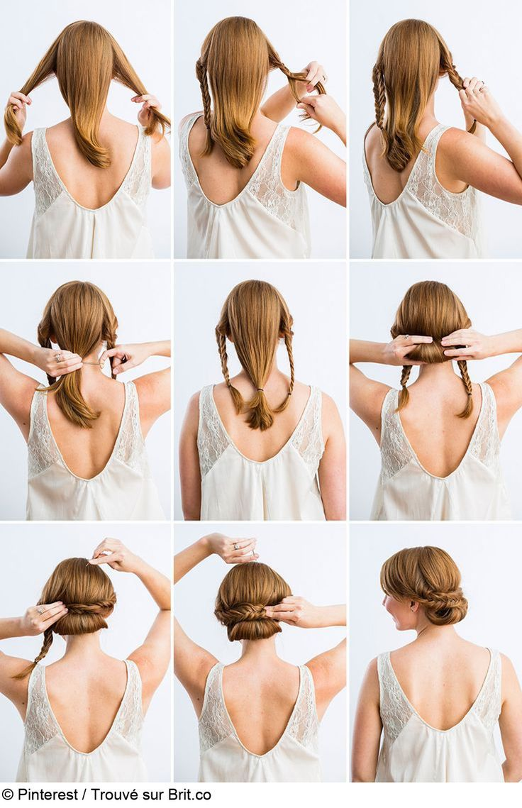 18 best Medium hair tutorials images on Pinterest | Hair makeup ...