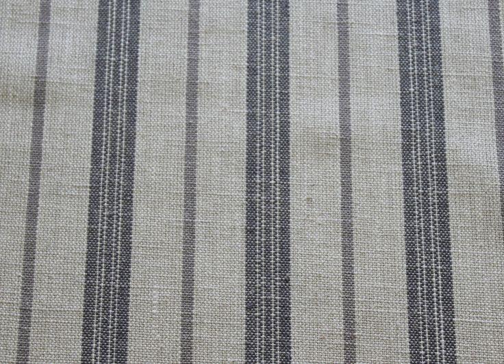 Country Stripe dove grey