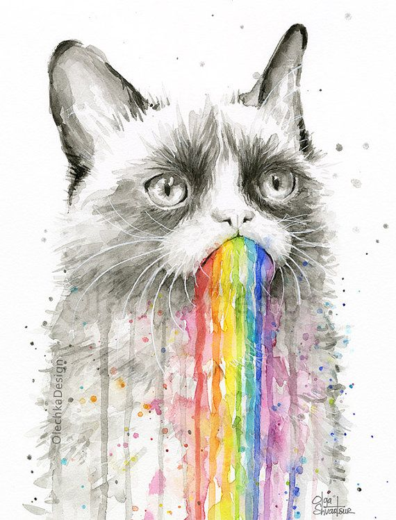 38 best images about Watercolor Animal Prints for Colorful Nursery ...