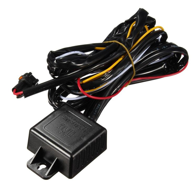 New Automotive LED Daytime Running Lights DRL Relay Harness Power Controller On Off Dimmer Synchronous Former Car Steering - $20.99