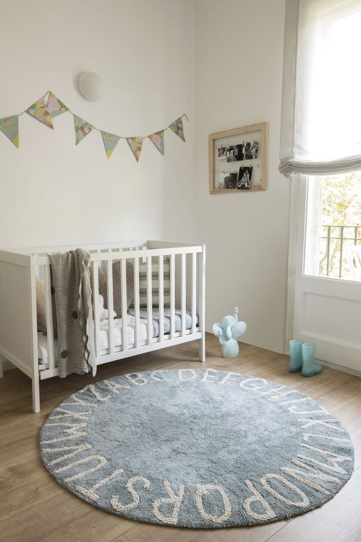 Round Abc Rug With Images Baby Room