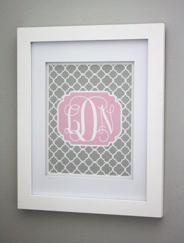 Free Printable (& Customizable) Monogram. This is cool. I was trying to do this totally by hand and now I don't gave to. TY!! great for bottle cap jewelry, glass tile jewelry & fridge magnets too! #ecrafty