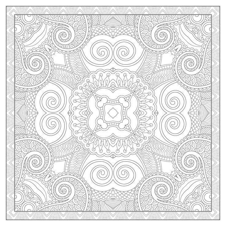 17 best images about very difficult mandala coloring pages - Grand mandala ...