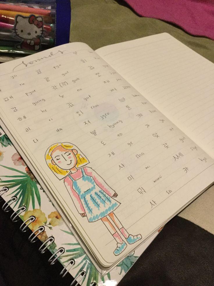 Korean notebook by toticastrillon_pro