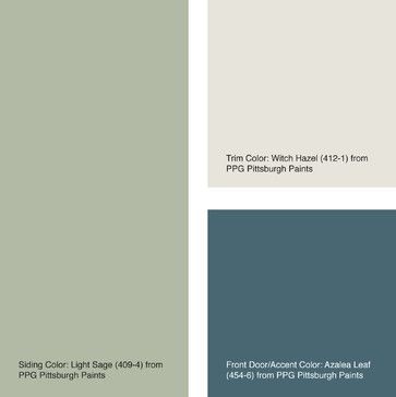 House Color of the Week: Six Ways with Sage - Other - Jennifer Ott Design